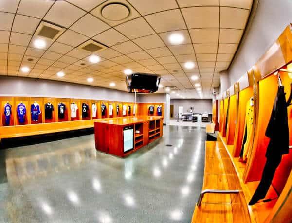 Stade de France Stadium Tour - Dressing Rooms