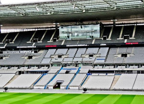 Stade de France Stadium Tour - Pitch Side