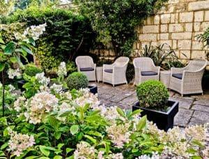 Bath in England - Beautiful Gardens