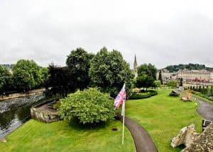 Bath in England - Parade Gardens