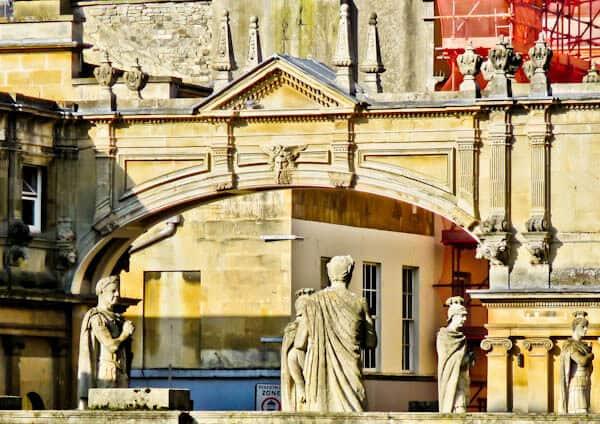 Bath in England - The Arch Bridge