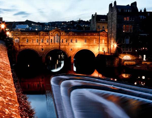 Bath in England - Pulteney Bridge