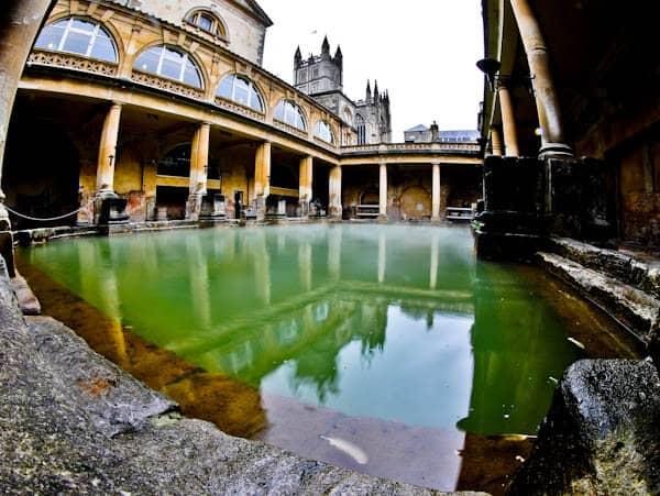 Bath in England - Roman Baths