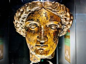 Bath in England - Minerva Statue
