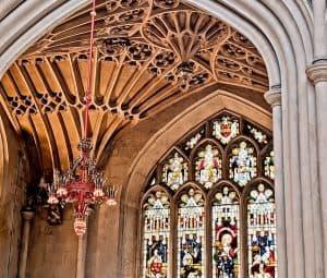 Bath in England - Bath Abbey Inside