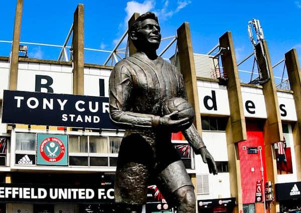 Sheffield United Stadium Tour - Bramall Lane - Joe Shaw Statue
