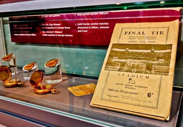 Sheffield United Stadium Tour - Bramall Lane - 1925 FA Cup
