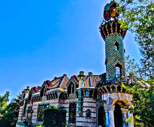 El Capricho de Gaudi - Comillas, Spain