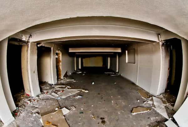 Gaziantepspor Abandoned stadium - Players Tunnel