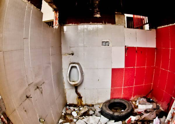 Gaziantepspor Stadium - Public Bathrooms