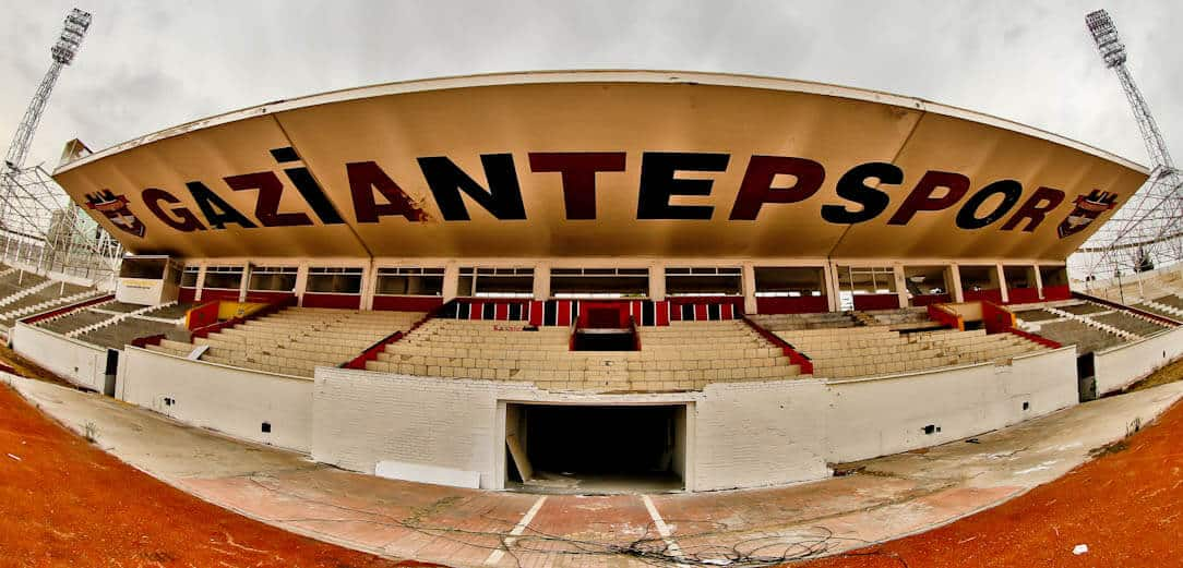 Inside the Abandoned Gaziantep Football Stadium - Turkey