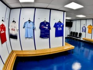 Goodison Park Stadium Tour - Everton FC - Away Team Dressing Room