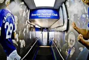 Goodison Park Stadium Tour - Everton FC - Players Tunnel