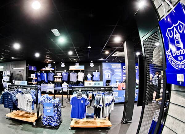 Goodison Park Stadium Tour - Everton FC - Everton One Club Shop