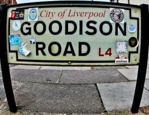 Goodison Park Stadium Tour - Everton FC - Location