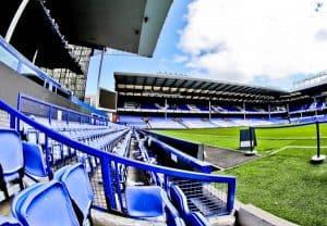 Goodison Park Stadium Tour - Everton FC - Dugout