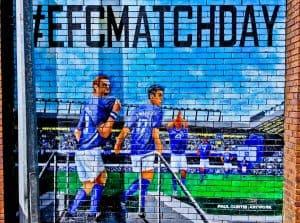 Goodison Park Stadium Tour - Everton FC - Street Art