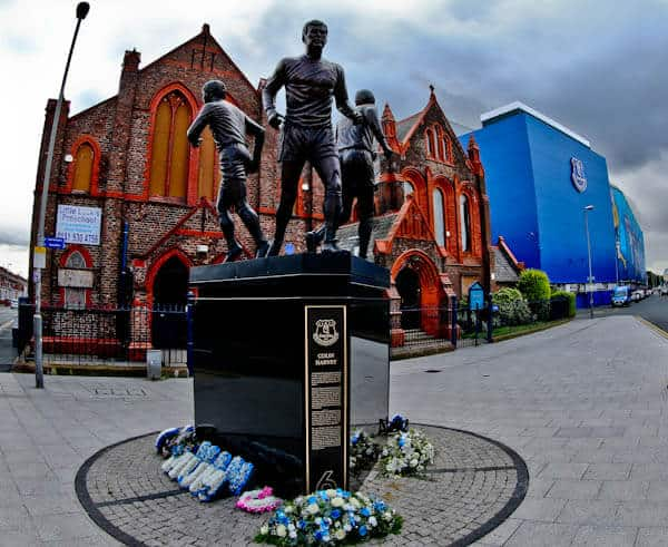 Goodison Park Stadium Tour - Everton FC - Everton Church and Holy Trinity Statue