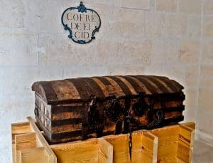 Coffin of El Cid in Burgos Cathedral