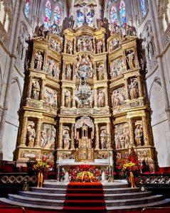 Main Altarpiece of Burgos Cathedral
