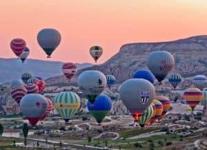 Sunrise / Sunset location in Goreme Turkey