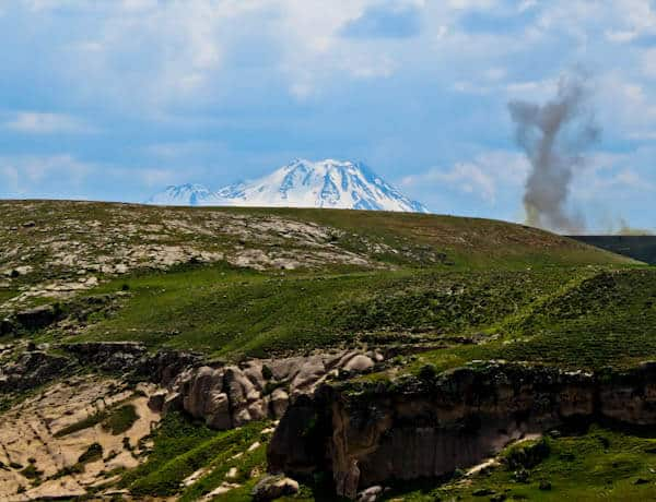 Mount Erciyes Stratovolcano
