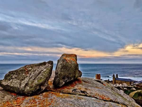 Sacred Stones in Muxia Spain