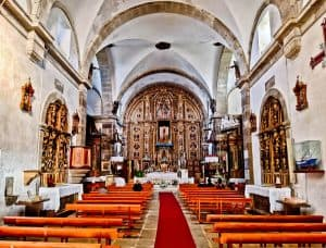Virgin Mary Boat Sanctuary / Church in Muxia Spain