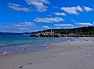 Beaches in Muxia Spain