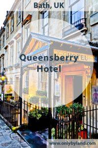 Queensberry Hotel in Bath, England