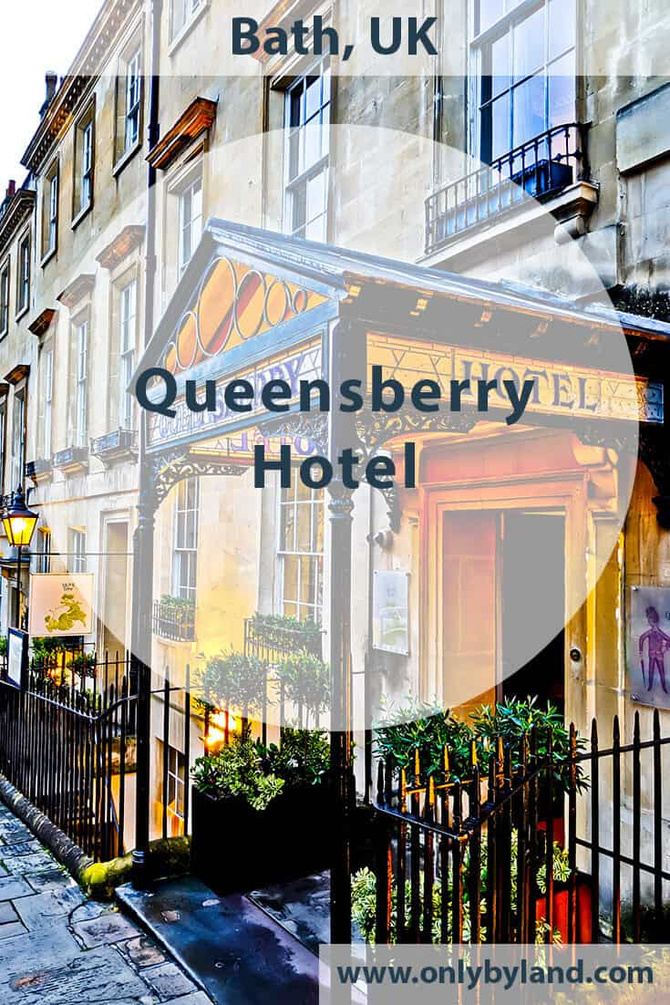 Queensberry Hotel in Bath, England – Travel Blogger Review