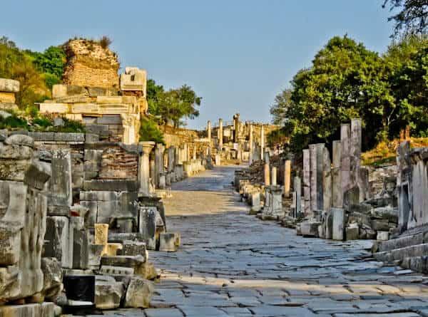 Where did the Virgin Mary live? Ephesus, Turkey