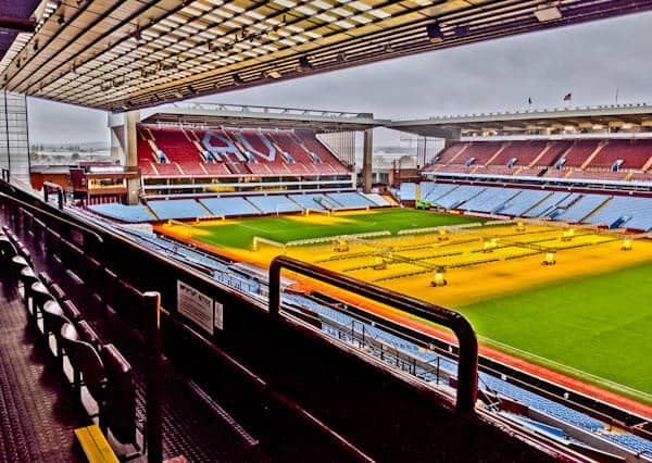 Prince Willam's Seat at Villa Park