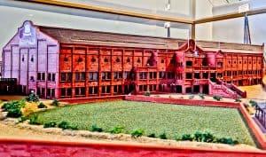 Villa Park Stadium Model - Archibald Leitch