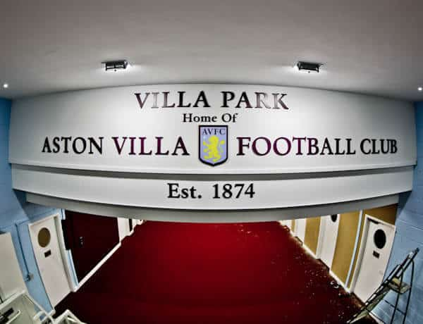 Aston Villa Players Tunnel