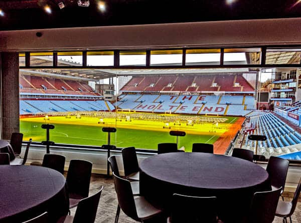 VIP Suites at Aston Villa Stadium