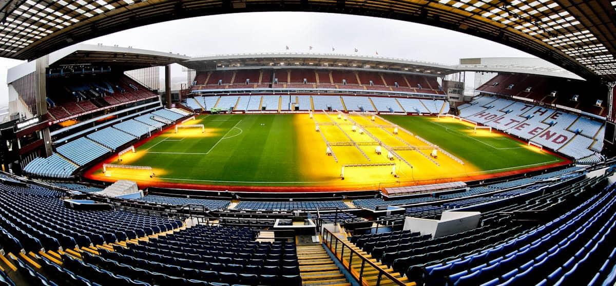 Villa Park Stadium Tour - Aston Villa - Birmingham