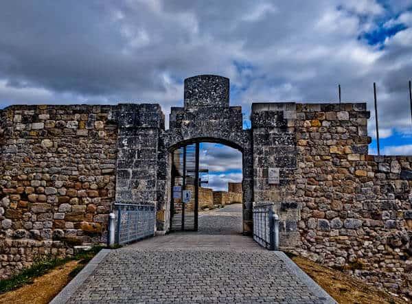 Burgos Castle Gates
