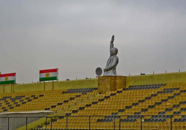 Franso Hariri Statue - Erbil