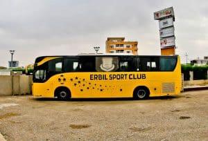 Erbil Sports Club Team Bus