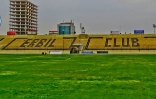 Erbil International Stadium Tour - Kurdistan Region Iraq