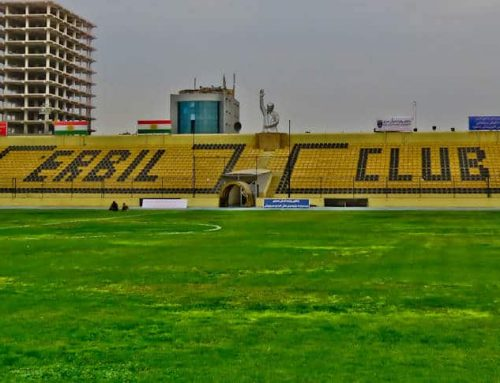 Erbil International Stadium Tour – Kurdistan Region Iraq