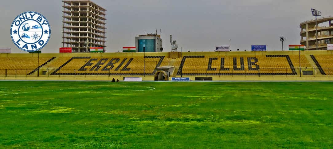 Erbil International Stadium Tour - Kurdistan Region Iraq