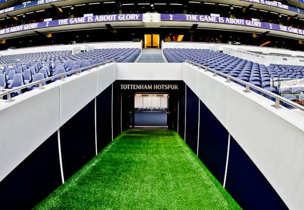 Tottenham Hotspur Stadium Players Tunnel