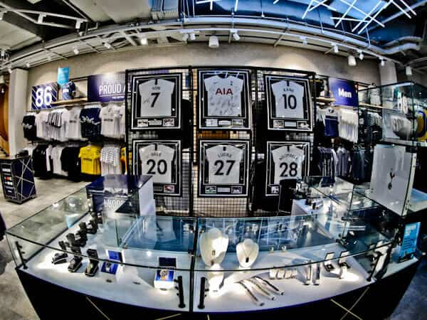 Spurs Club Shop, Tottenham