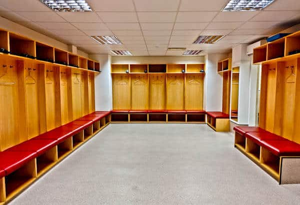 Burnley Home Team Dressing Rooms