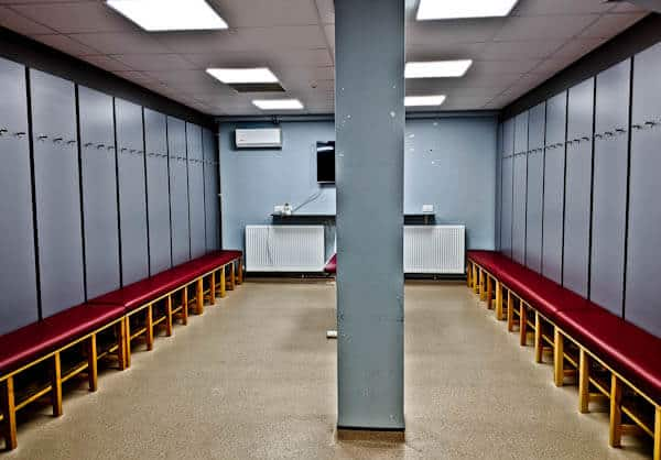 Burnley Away Team Dressing Rooms
