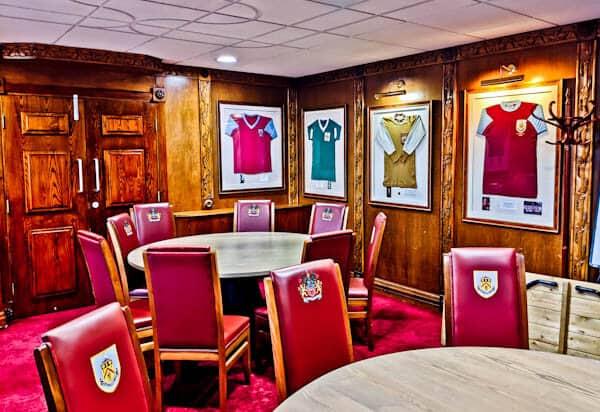 Turf Moor Stadium - Boardroom