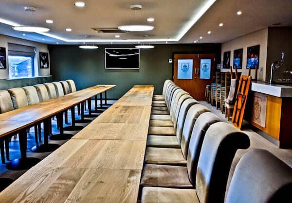 Burnley FC Boardroom