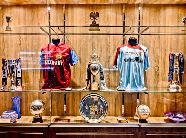 Burnley Trophy Room